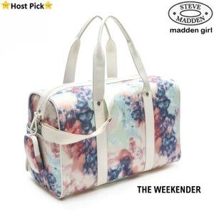 SM Tie Dye Weekender Travel Bag w/ Matching Pouch